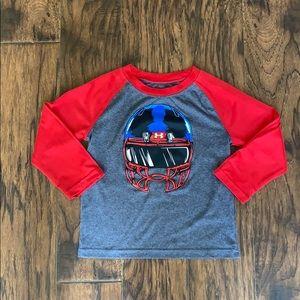 Under Armour football shirt size 3T